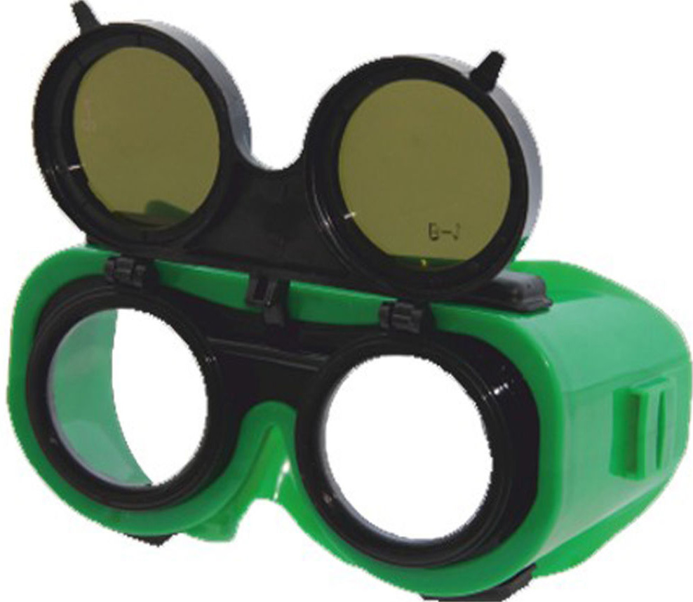 Очки для газосварочных работ