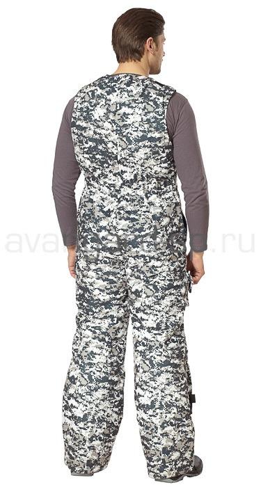 Костюм «АКВАТИКА» цвет серый пиксель