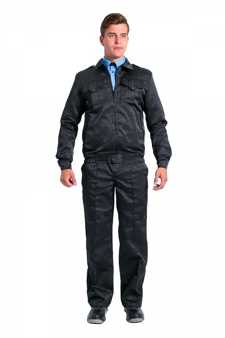 Костюм Охранник (брюки), черный