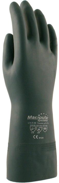 Перчатки Манипула Химик (LN-F-08, латекс + неопрен 0,70 мм)