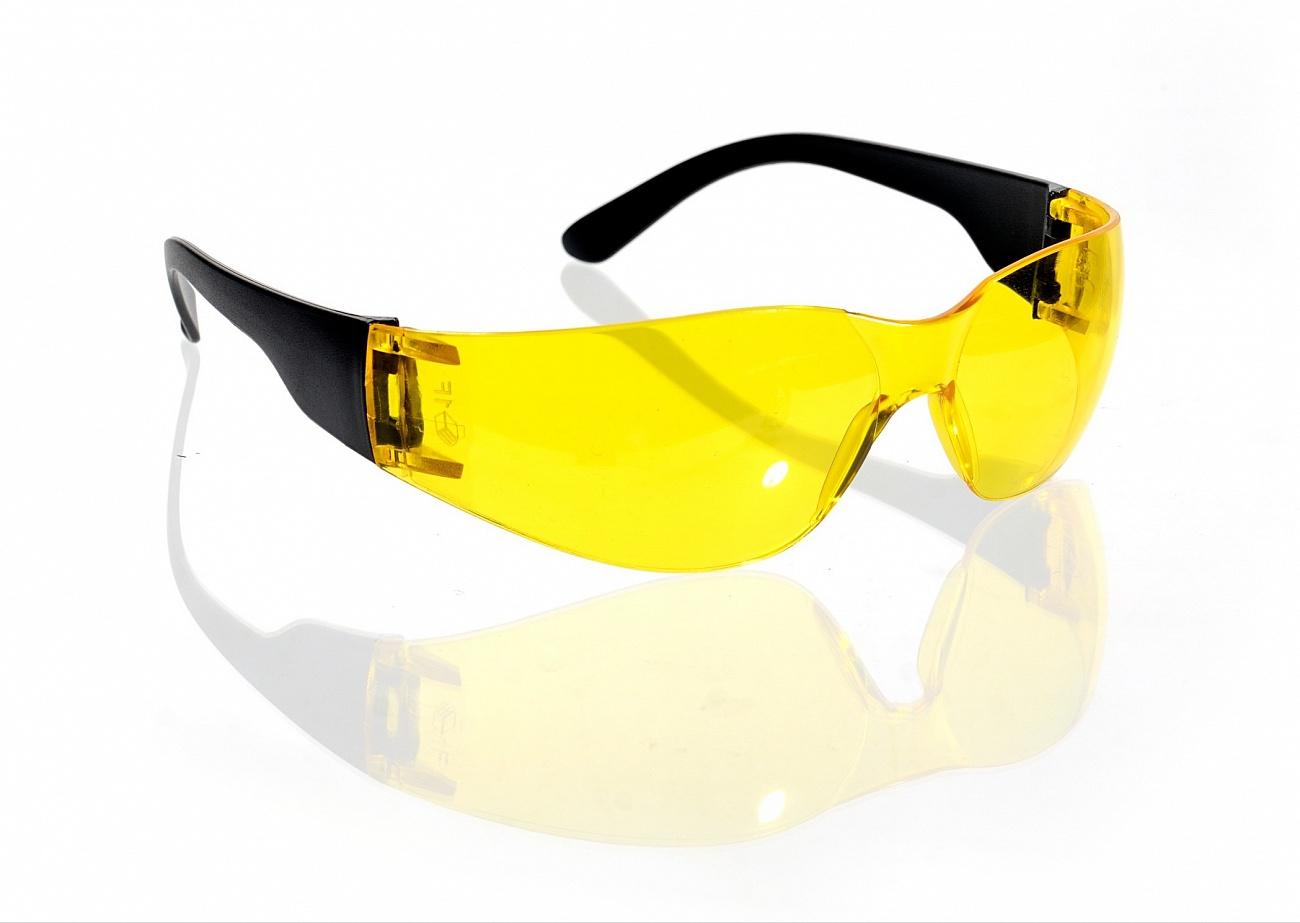 Очки открытые Классик, желтый