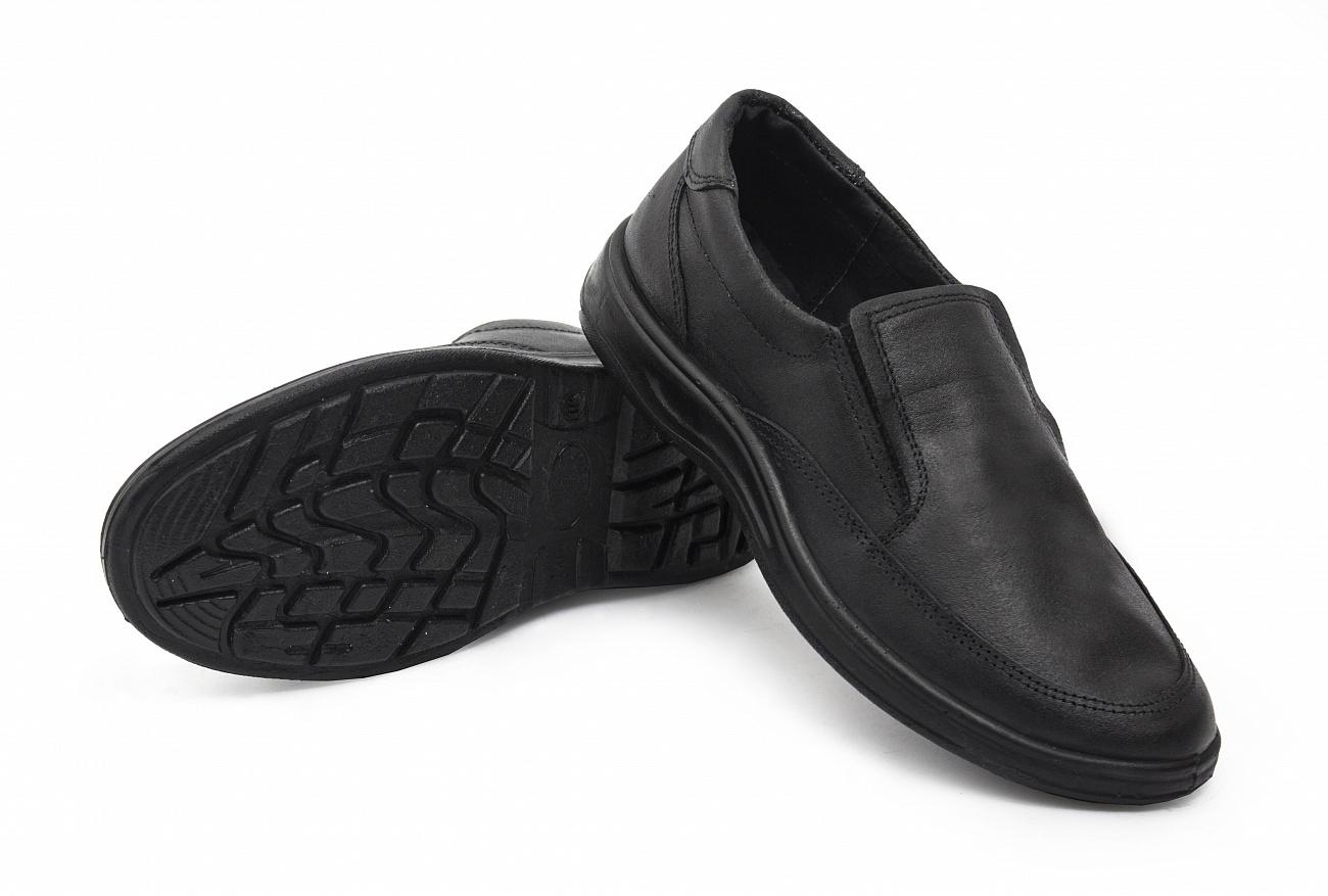 Туфли кожаные ПУ